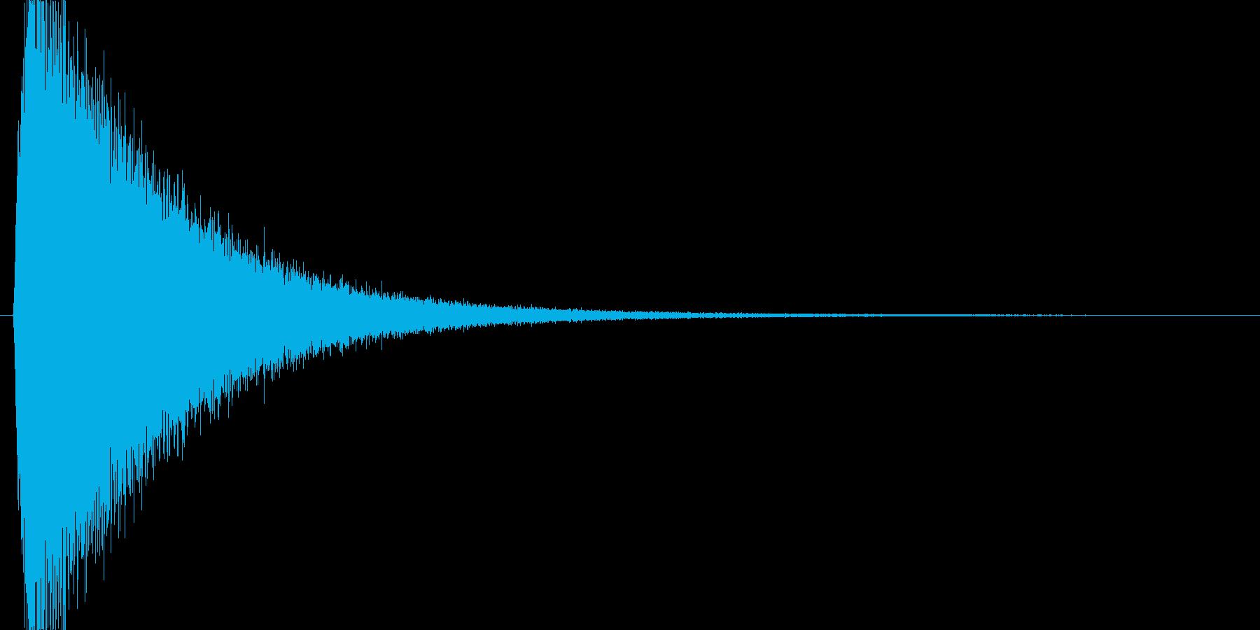 キュイーン(魔法詠唱、チャージ、溜める)の再生済みの波形