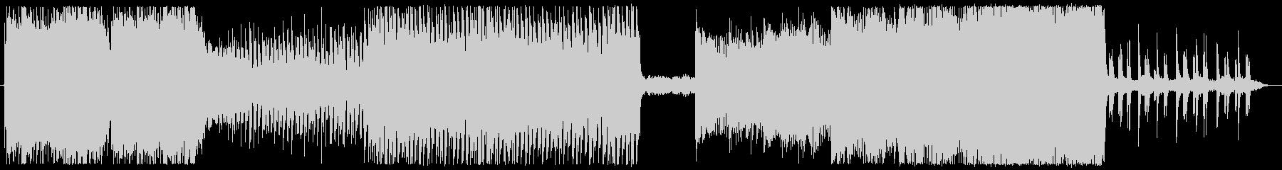 回想シーンの曲の未再生の波形