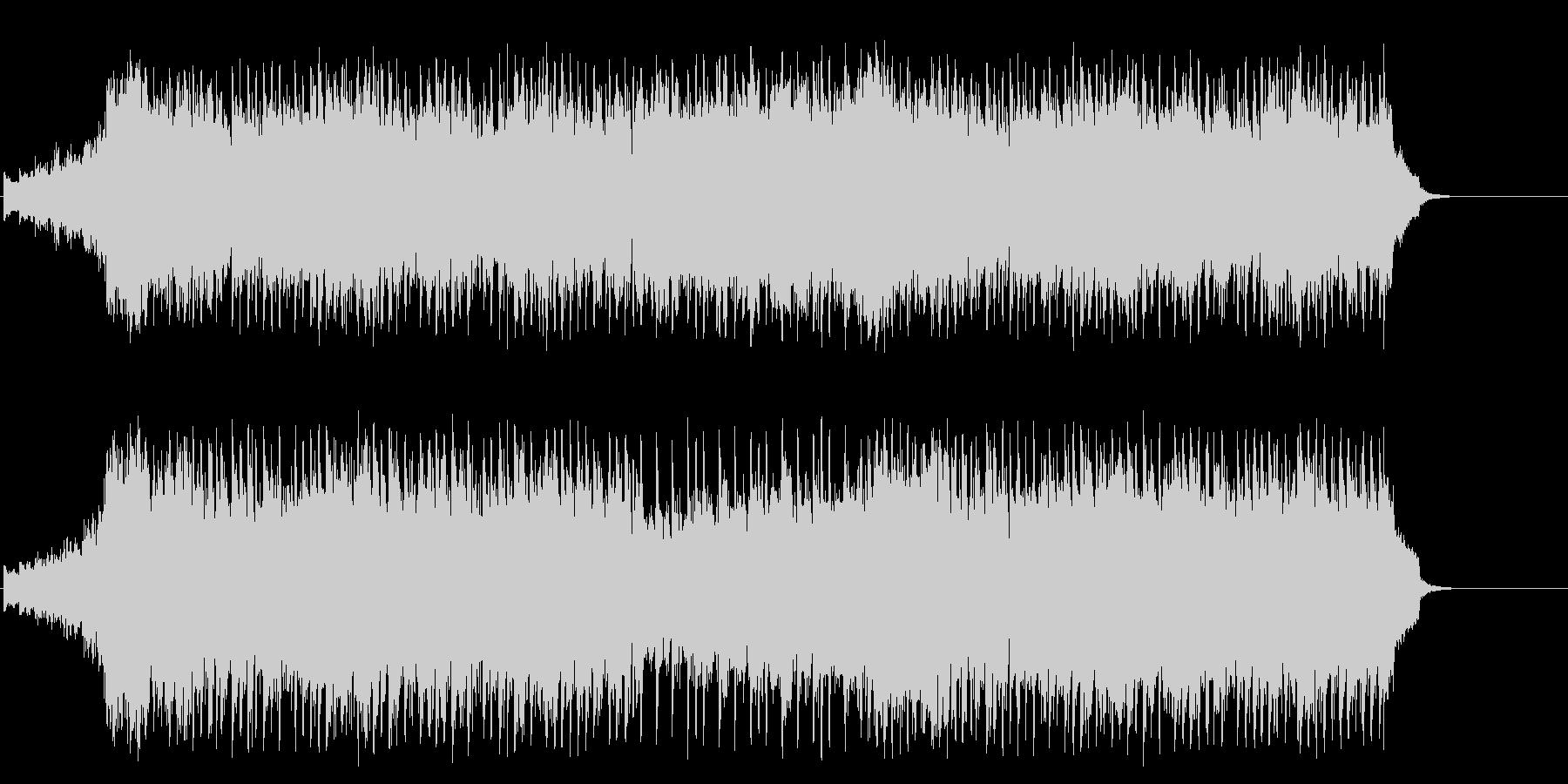 賛美歌風の感動的なブライダルポップの未再生の波形