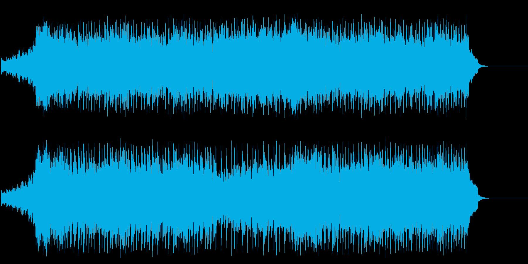 賛美歌風の感動的なブライダルポップの再生済みの波形