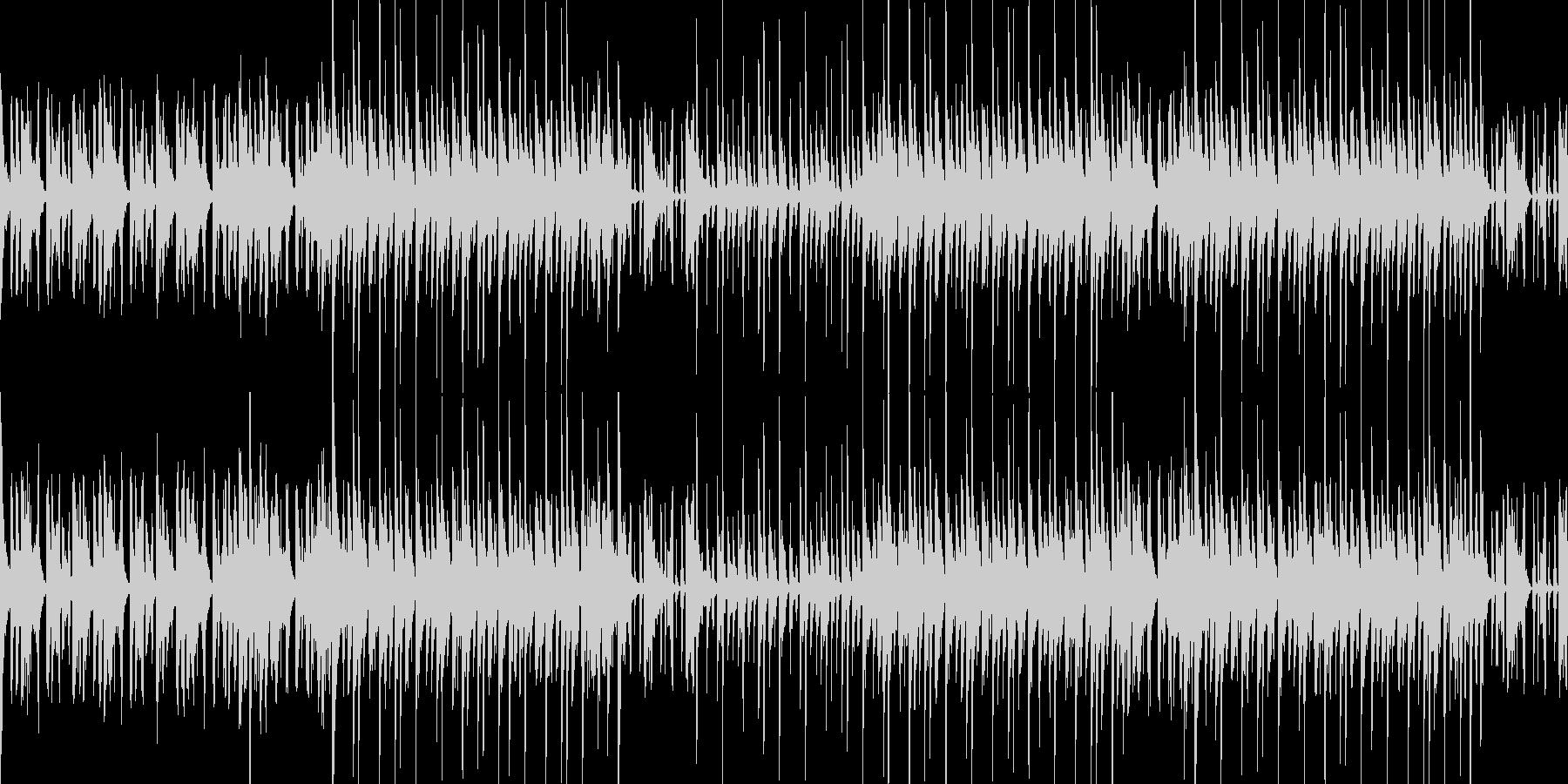 【ループ】夏のイメージ スチールドラムの未再生の波形
