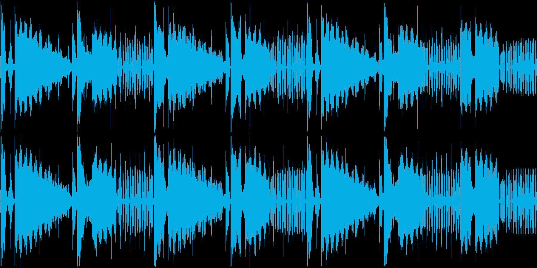 【落ち着いた雰囲気のギター】の再生済みの波形