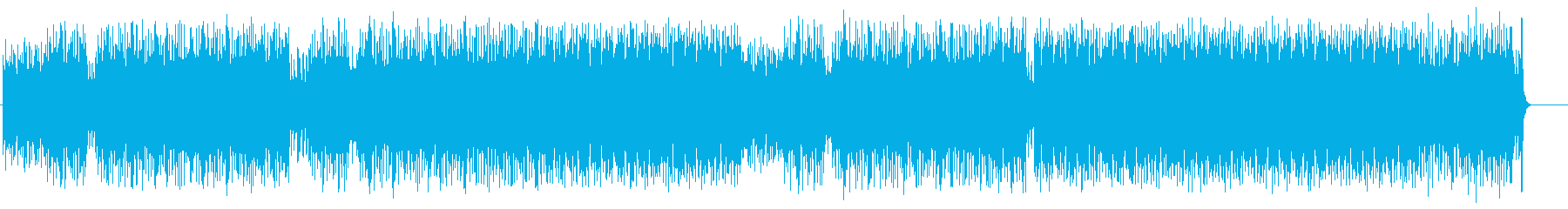 キャッチーなテクノポップ(フルサイズ)の再生済みの波形