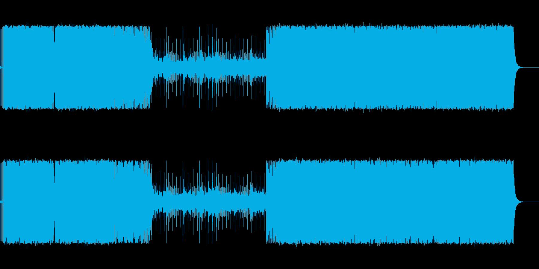 RPG ボス戦のBGMの再生済みの波形