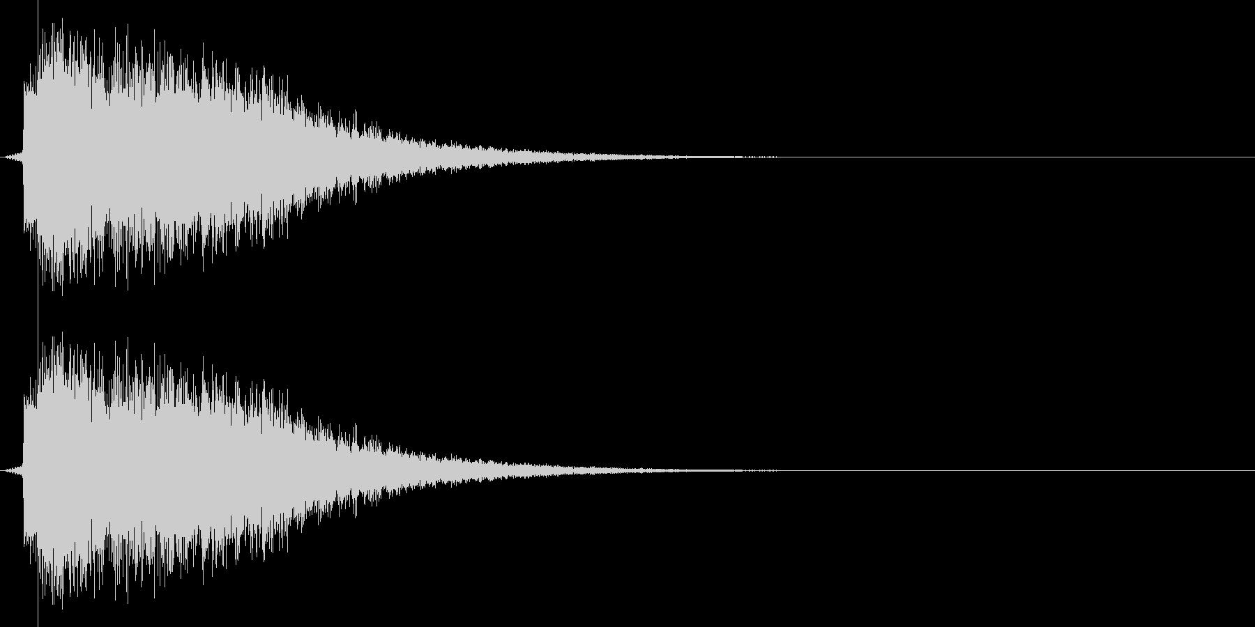 ビーン(ゲーム、決定、アプリ)の未再生の波形