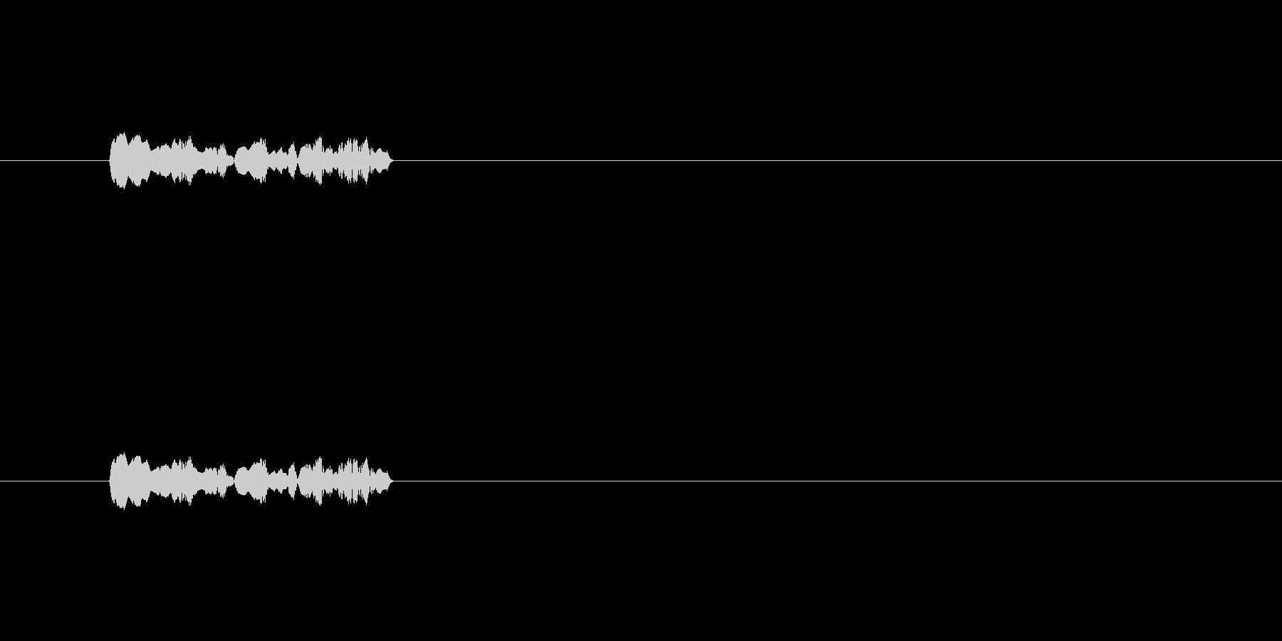 【ポップモーション27-2】の未再生の波形