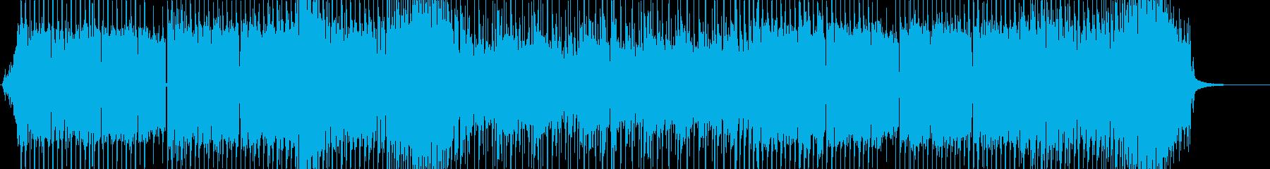 アプリ、エレクトロ、EDM、ゲームの再生済みの波形