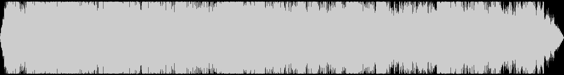 工事現場の騒音 ゴゴゴ カンカン その1の未再生の波形