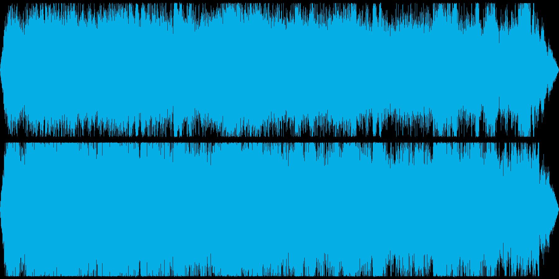 工事現場の騒音 ゴゴゴ カンカン その1の再生済みの波形