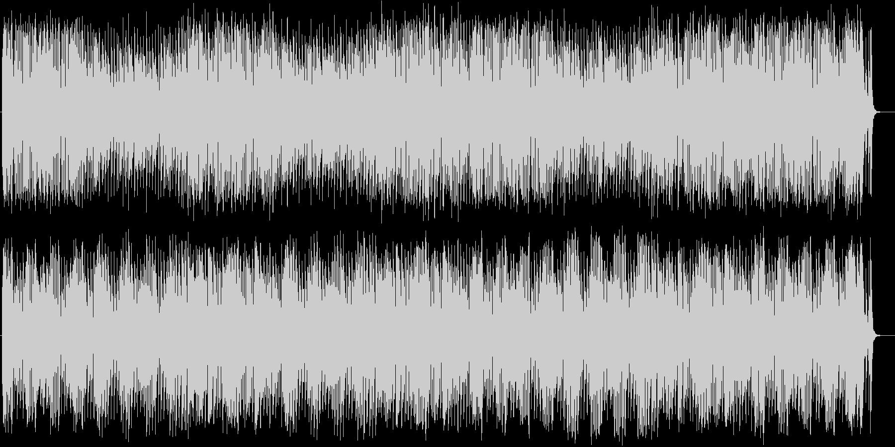 おしゃれなシンセ・ピアノなどのポップ曲の未再生の波形