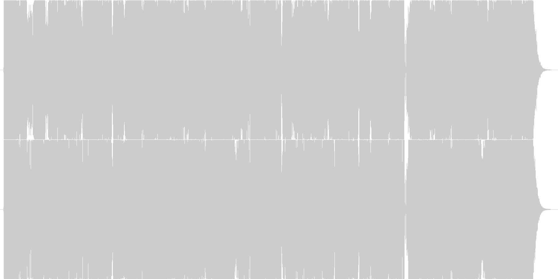 【EDM】インパクト重視オープニング向けの未再生の波形