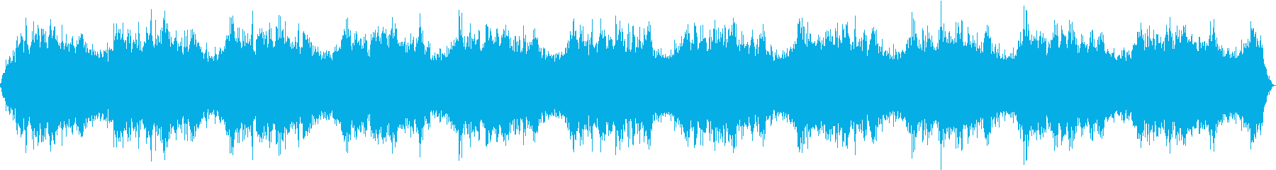 宇宙空間を移動するアンビエントの再生済みの波形