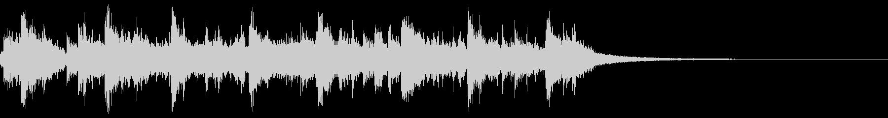 カオス2 ジャズ楽器 滅茶苦茶 感電の未再生の波形