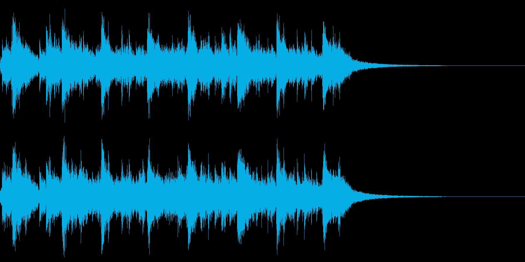カオス2 ジャズ楽器 滅茶苦茶 感電の再生済みの波形
