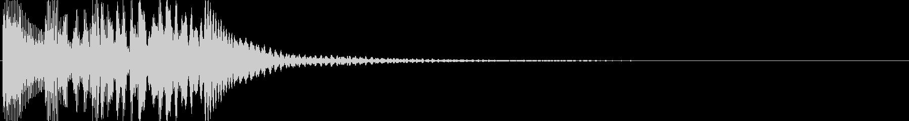 ゲーム(回復、アイテム入手、決定音)などの未再生の波形
