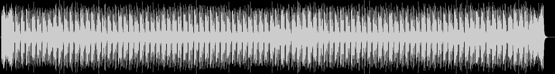 明るくキャッチーなシンセサイザーサウンドの未再生の波形