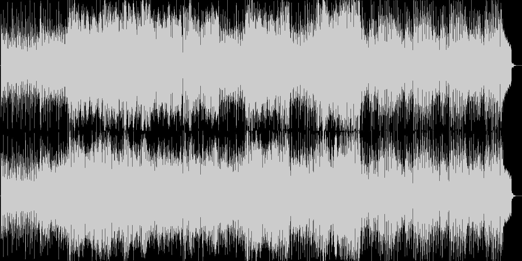 尺八と琴の旋律が印象的な和風なBGMの未再生の波形