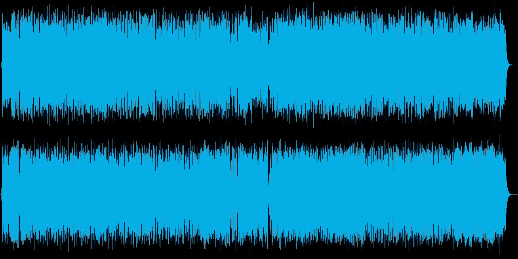 やさしく心に響く美しいメロディのポップスの再生済みの波形