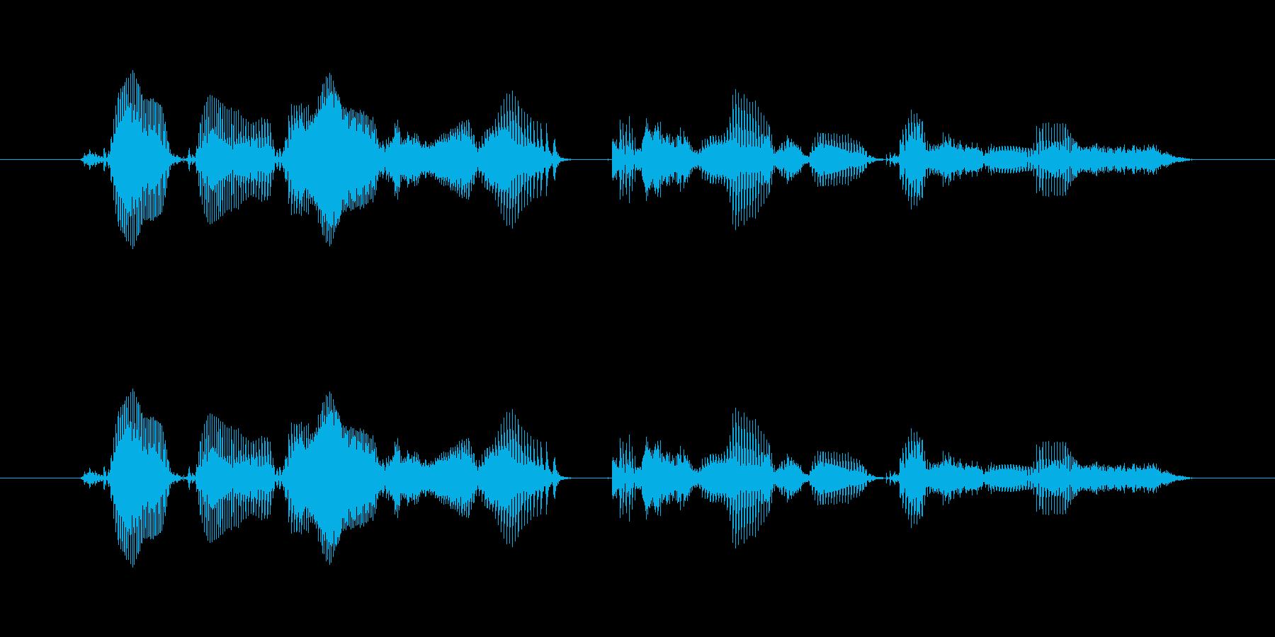 【時報・時間】午後0時を、お知らせいた…の再生済みの波形