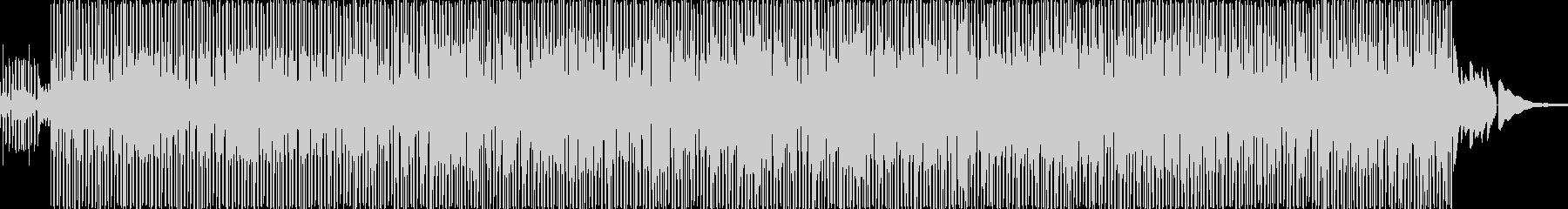 哀愁のあるアコースティックギターファンクの未再生の波形
