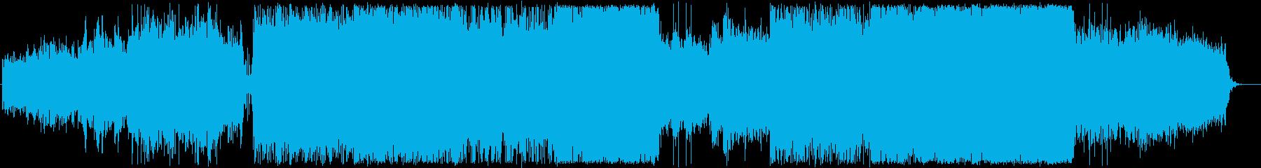transition 映画のBGMの再生済みの波形