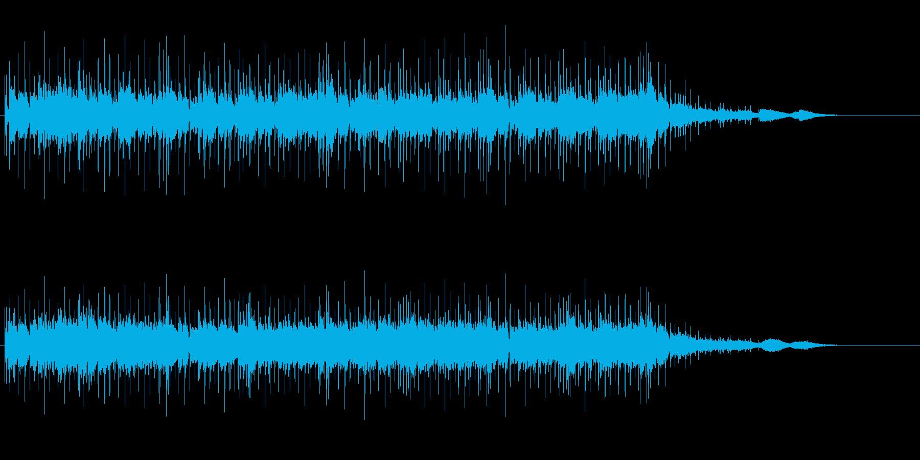 ホラー調の奇妙なアンビエントの再生済みの波形