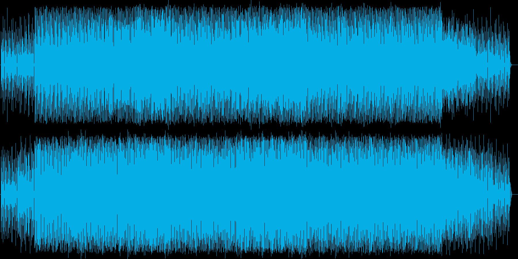 90年代のテクノ/ハウス系インスト曲の再生済みの波形