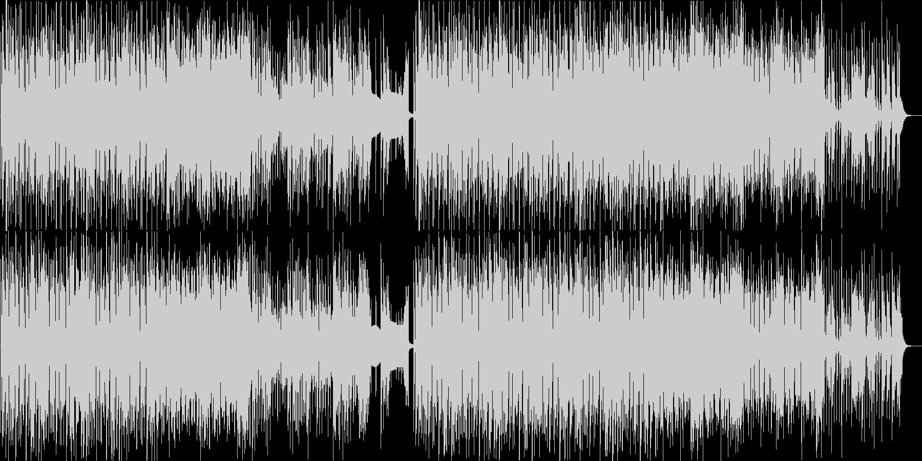 ピアノがおしゃれなハウスポップなダンス曲の未再生の波形