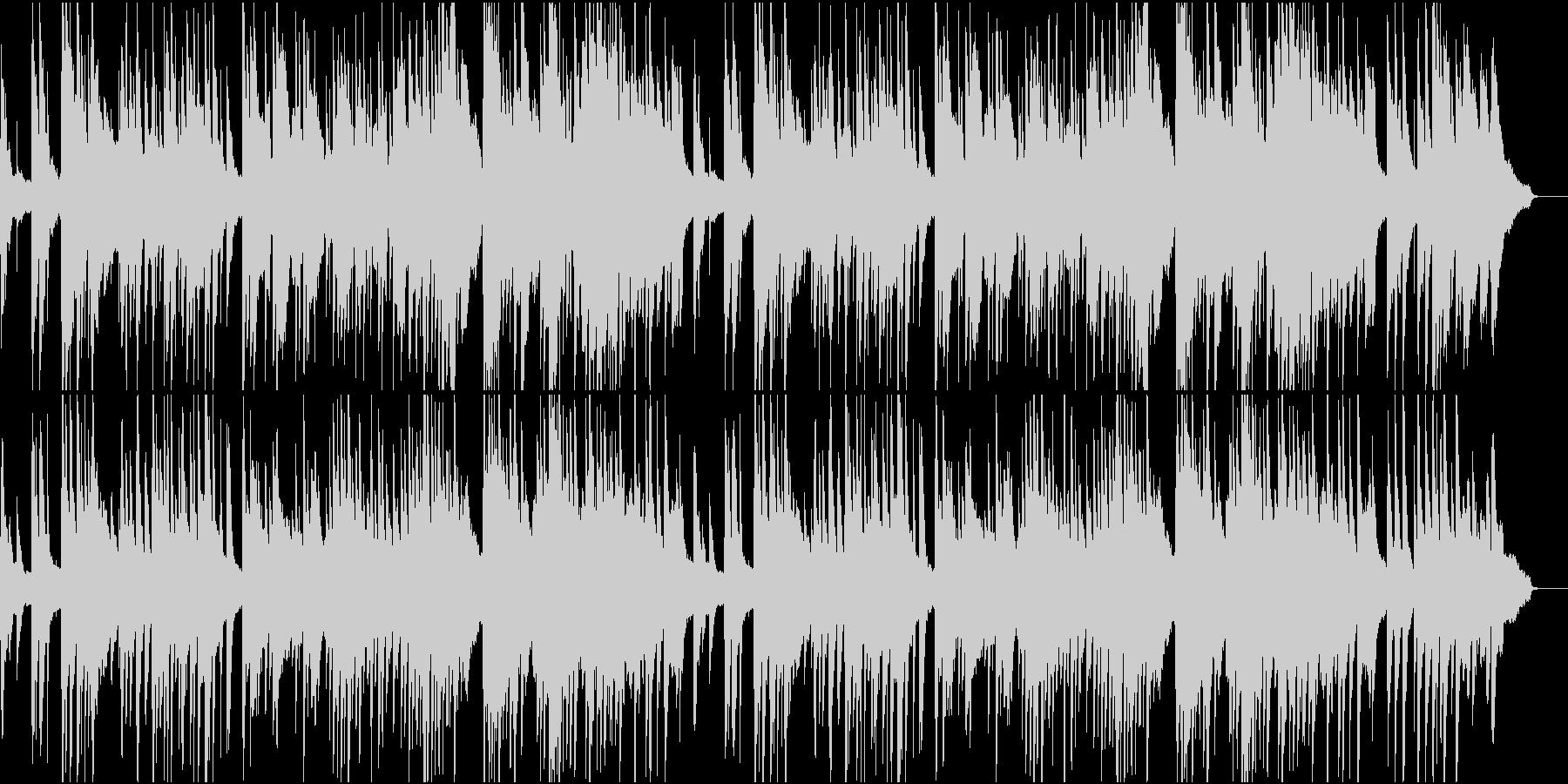 優しく落ち着く感じのピアノ曲の未再生の波形