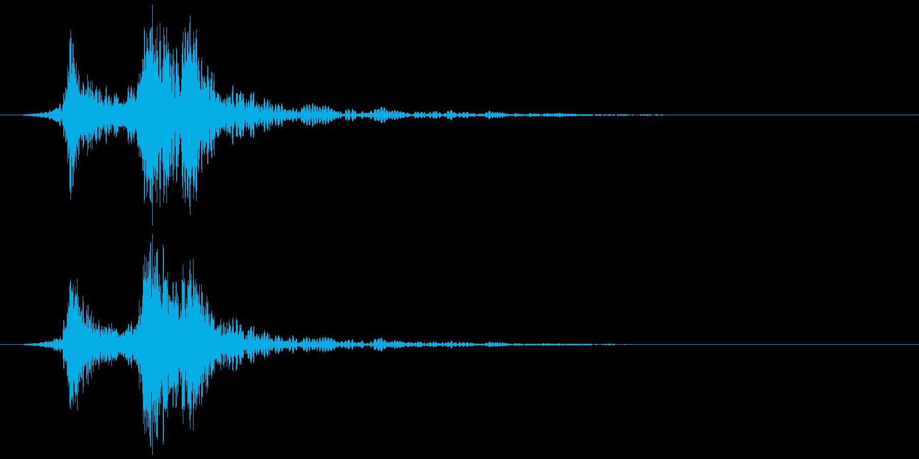 ポスト(入れる、開ける、閉める) カタンの再生済みの波形