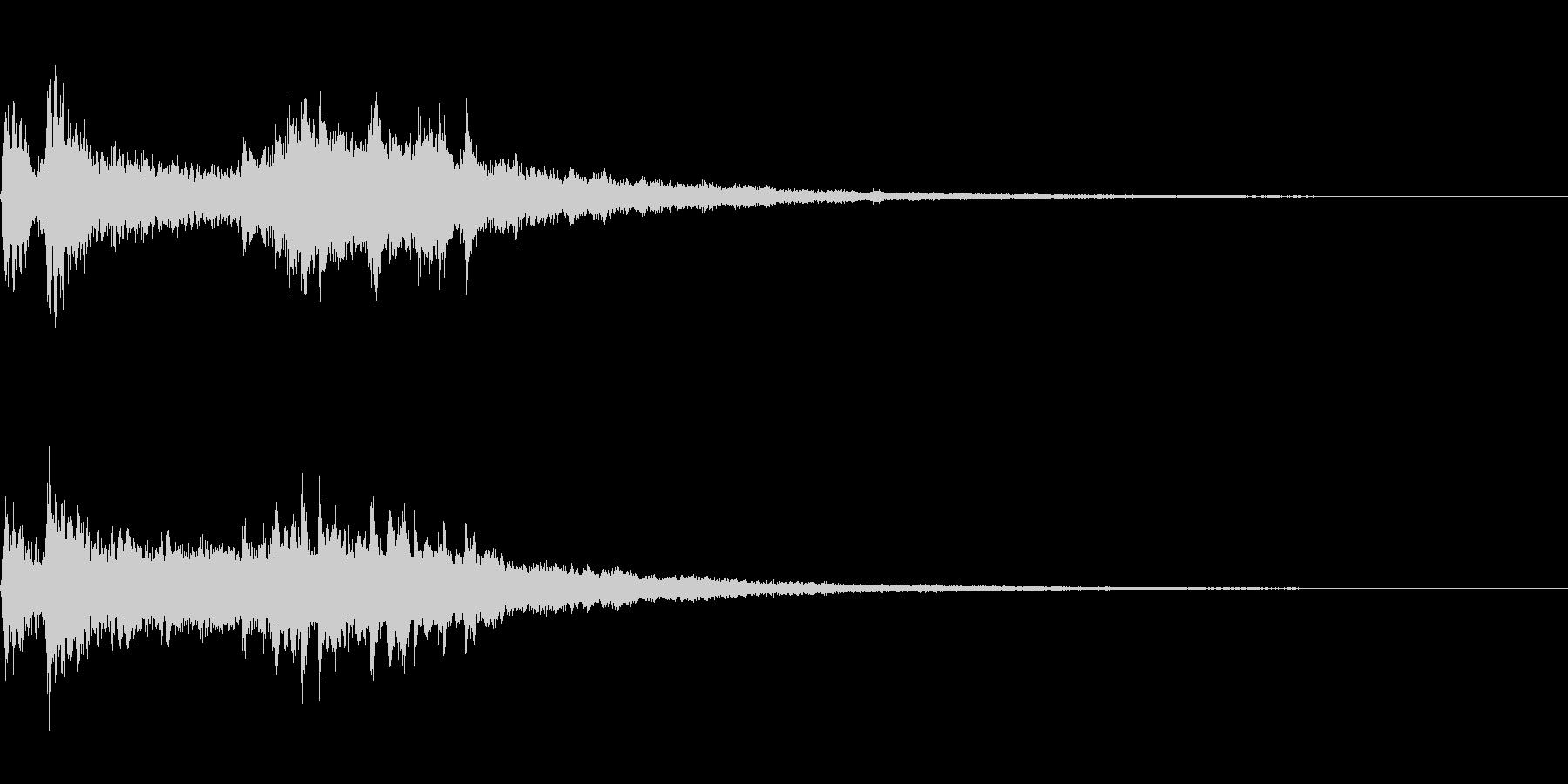 劇伴~衝撃を受けた時のピアノのフレーズ~の未再生の波形
