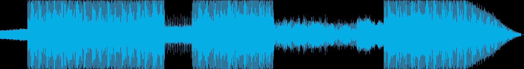 EDMアレンジによるハードロックの再生済みの波形