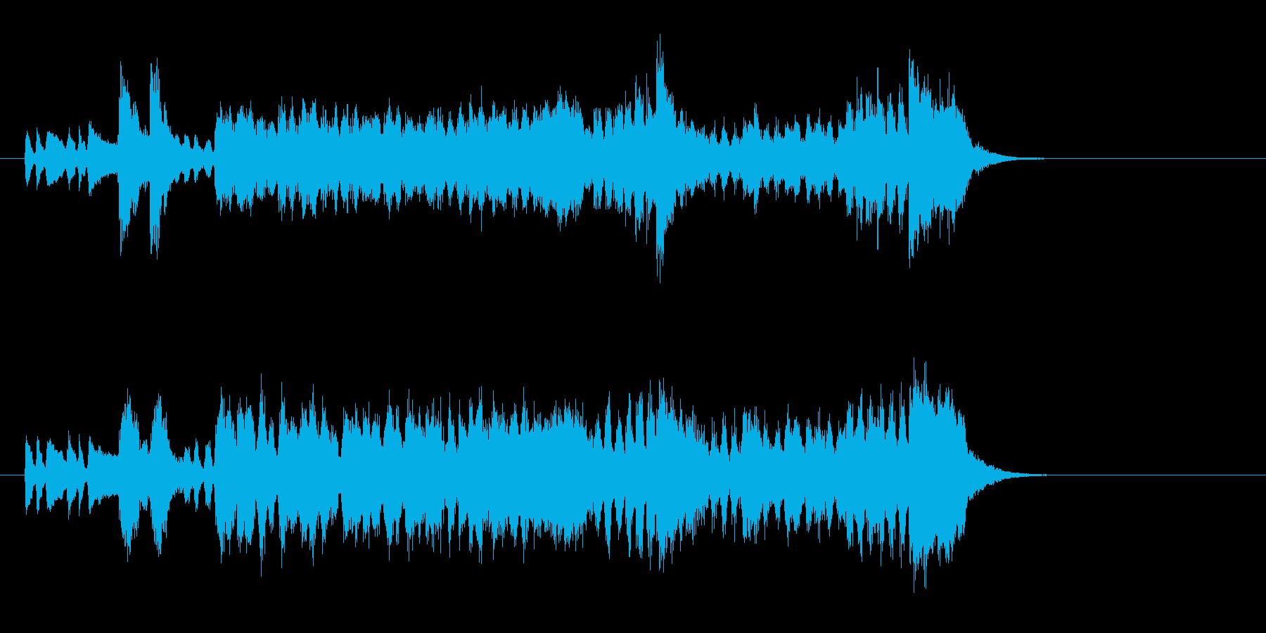 壮大な映画風オーケストラ(イントロ)の再生済みの波形