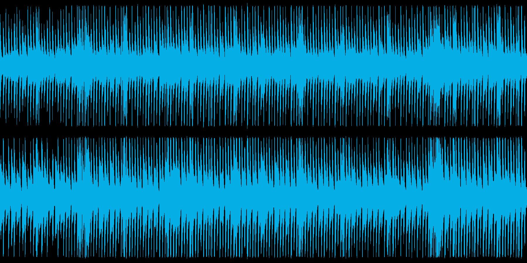 【ベース抜き】明るく爽やかなPR動画用Bの再生済みの波形