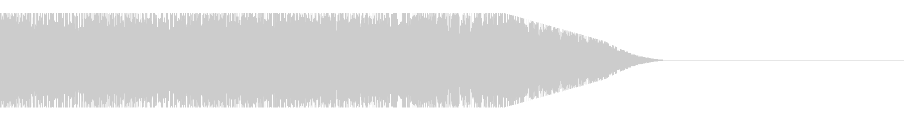 電動丸鋸の未再生の波形