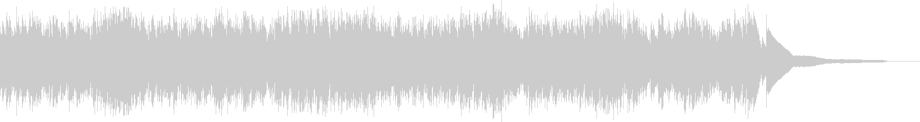 生演奏:細かい音の動きで流れるピアノの未再生の波形