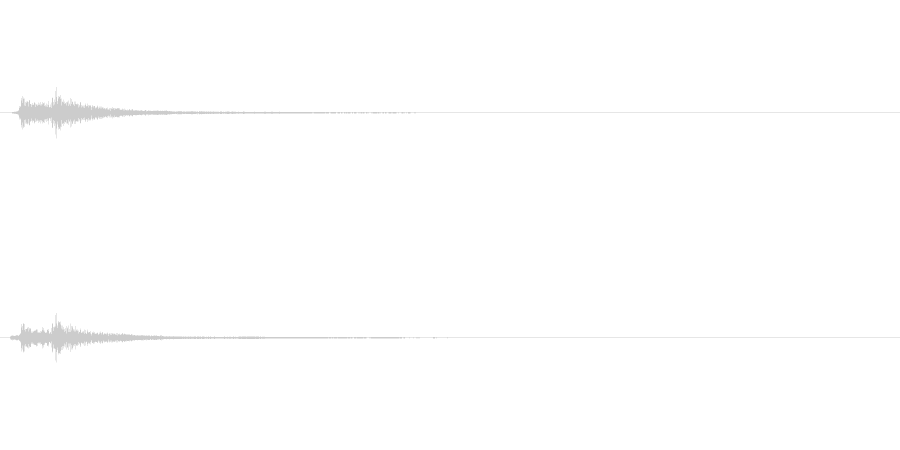 キラキラ系_015の未再生の波形
