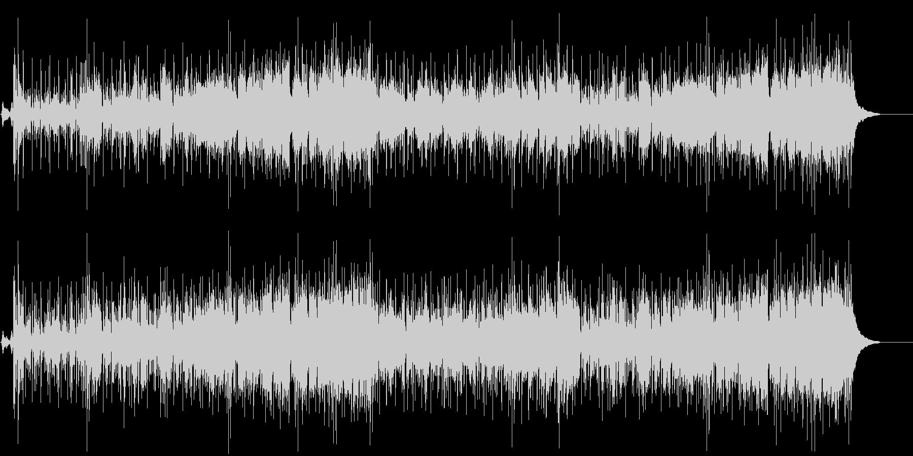 大胆で牧歌的なレゲエ風ポップフュージョンの未再生の波形