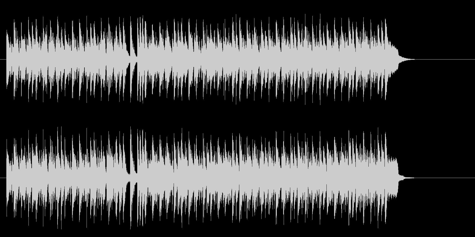 ワールド系サンバ風BGM(サビ~エンド)の未再生の波形