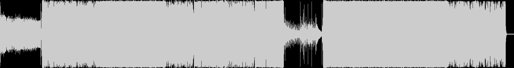 無機質でダークな不思議系BGMの未再生の波形