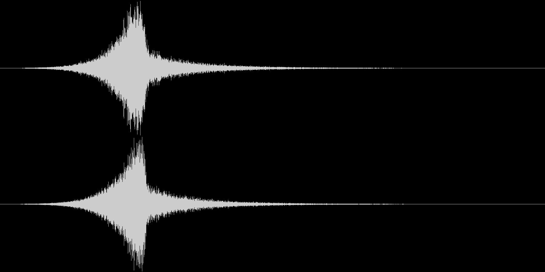 TVFX セール特価出しSEの未再生の波形