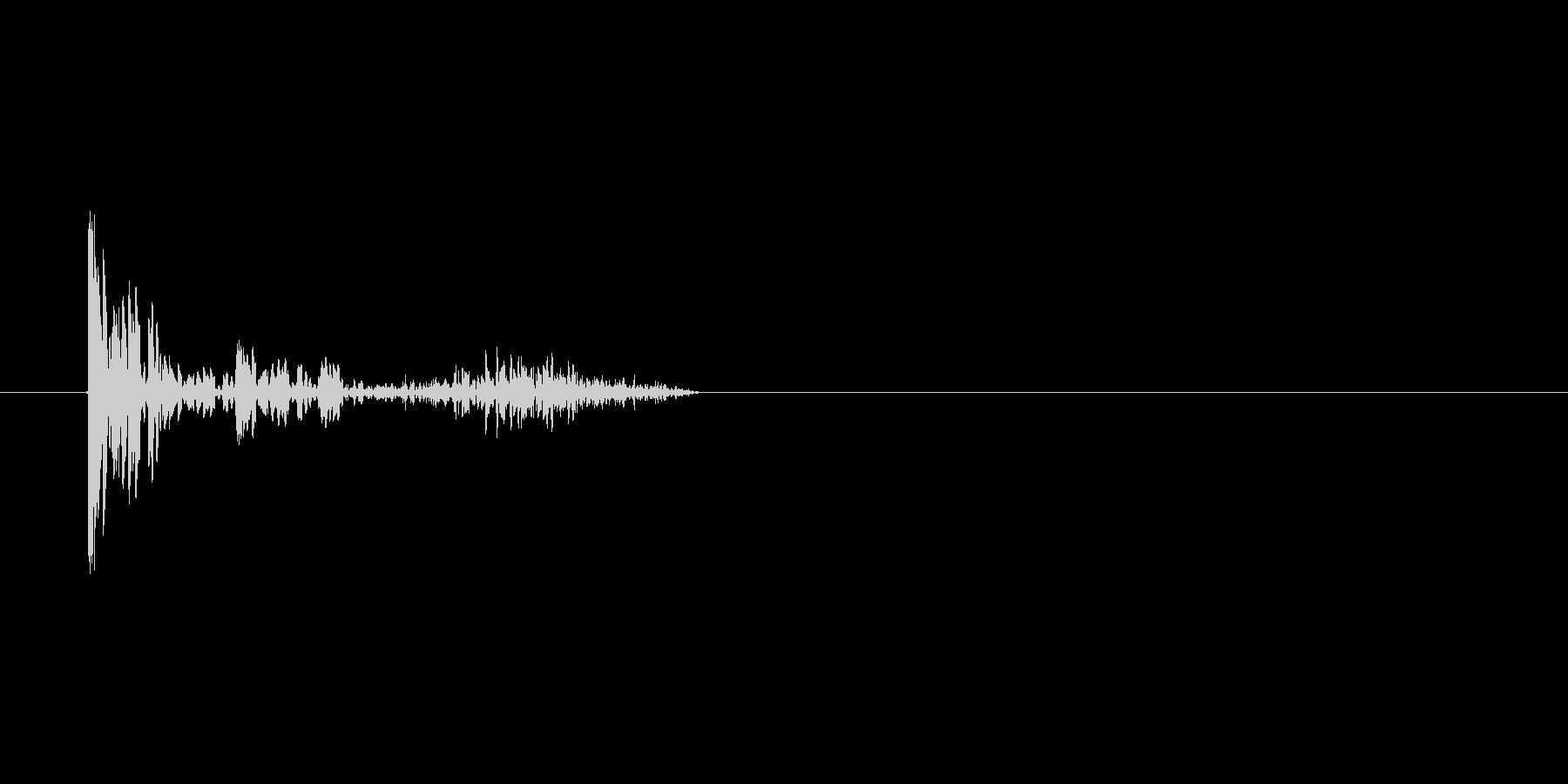 「ドドタン コォー(サウンドロゴ)」の未再生の波形
