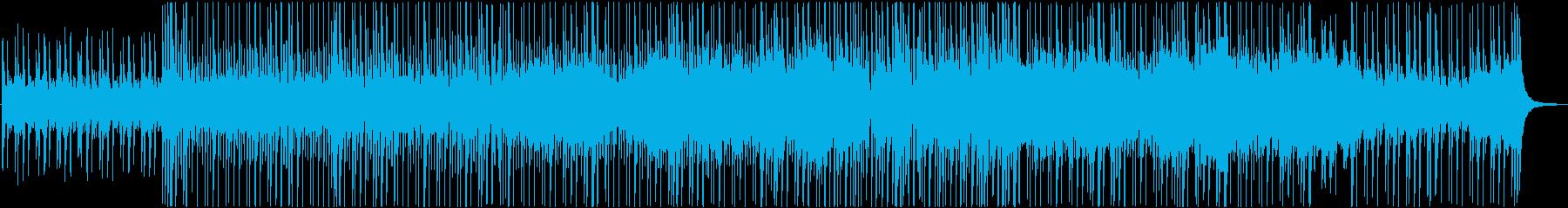 爽やかで優しいプロモーション向けBGMの再生済みの波形