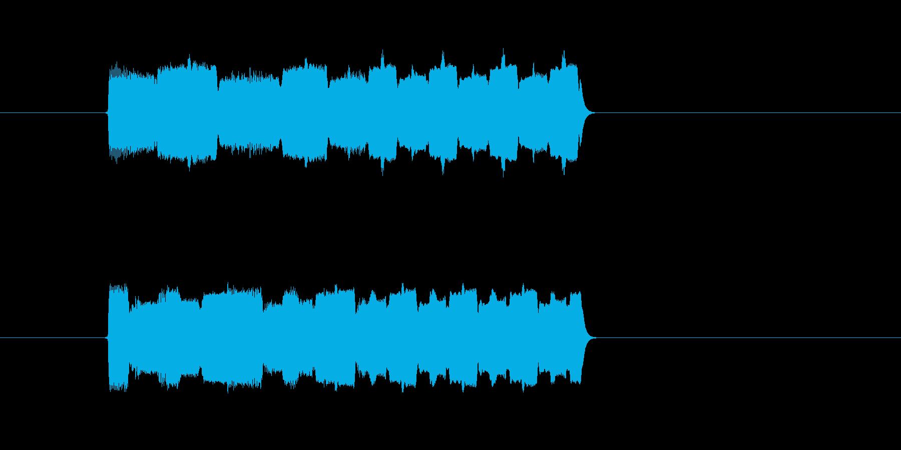 ゲーム、クイズ(正解)_014の再生済みの波形
