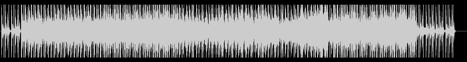 夕陽の似合う叙情的なスローEDMの未再生の波形