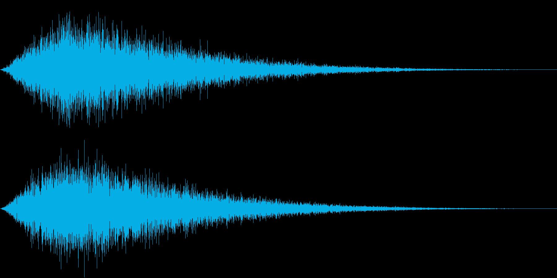 TV RADIO SFX9 ご本人登場風の再生済みの波形