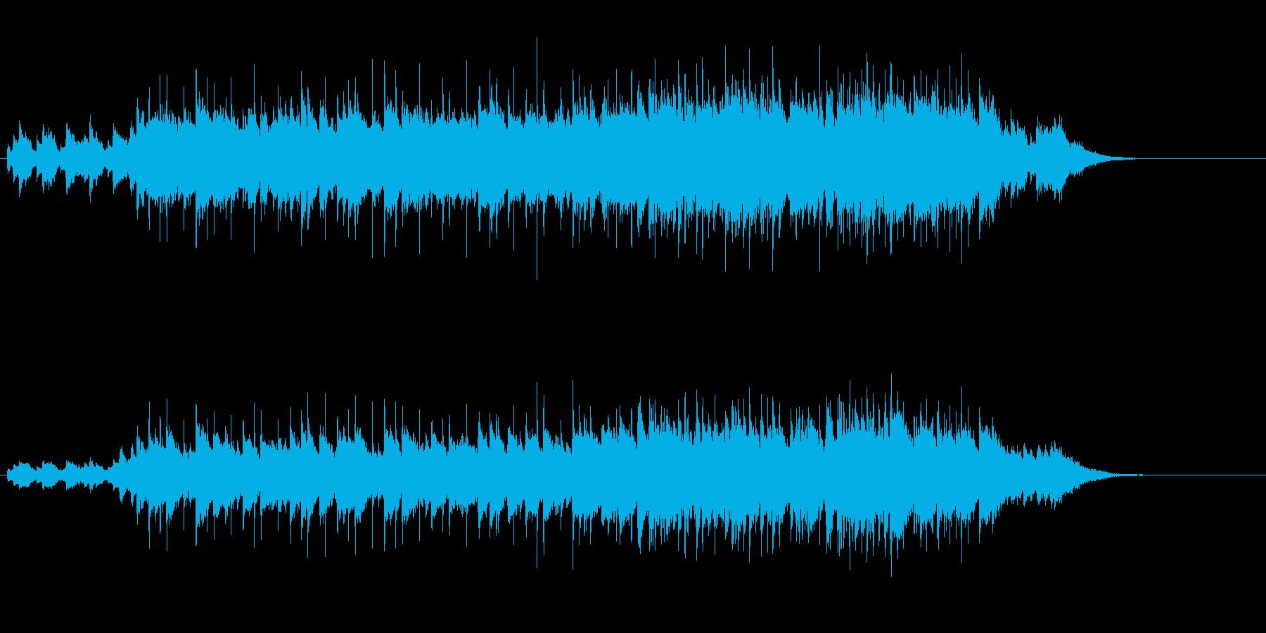 感傷的なメロディがしんみりのポップスの再生済みの波形