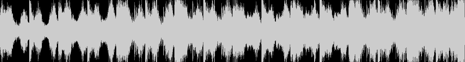 マジで怖いホラーBGMの未再生の波形