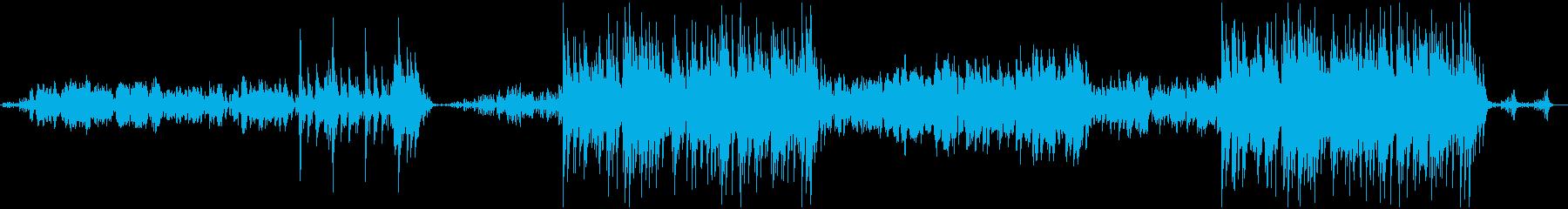 木管と弦による和風アンサンブルの再生済みの波形