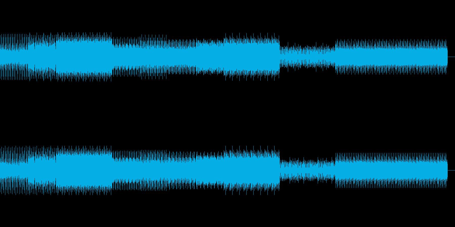 不気味なディープテクノの再生済みの波形